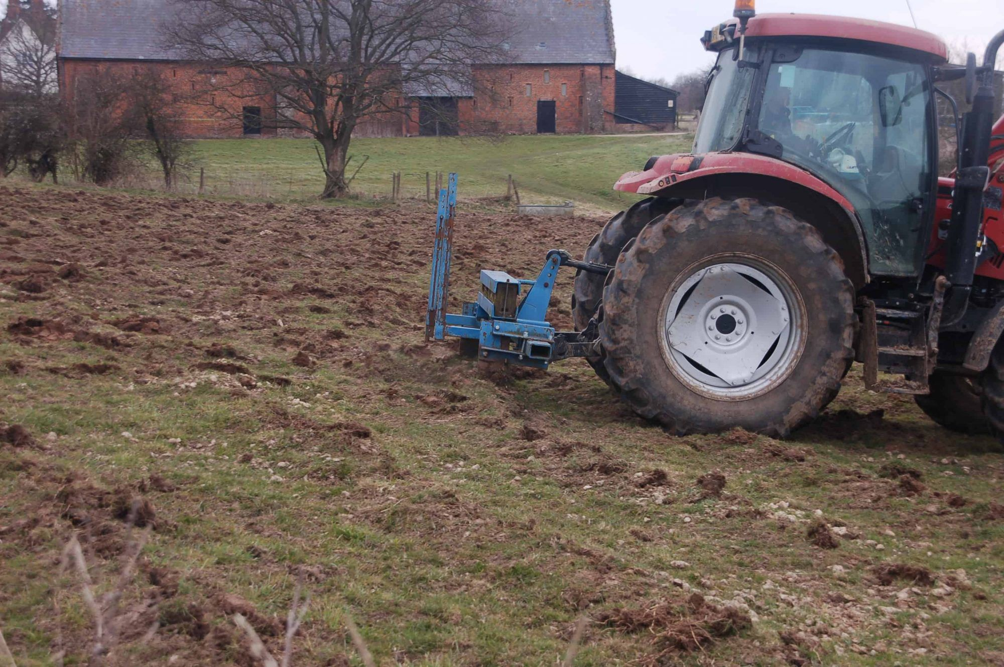 Copdock Hall Ploughing