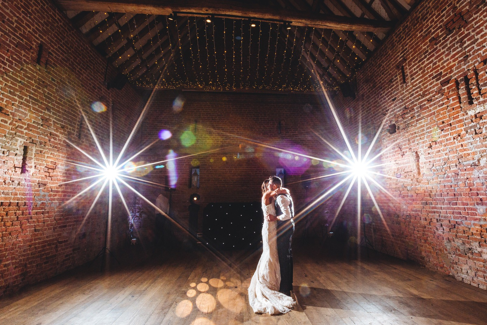 Couple's First Dance at Copdock Hall Wedding