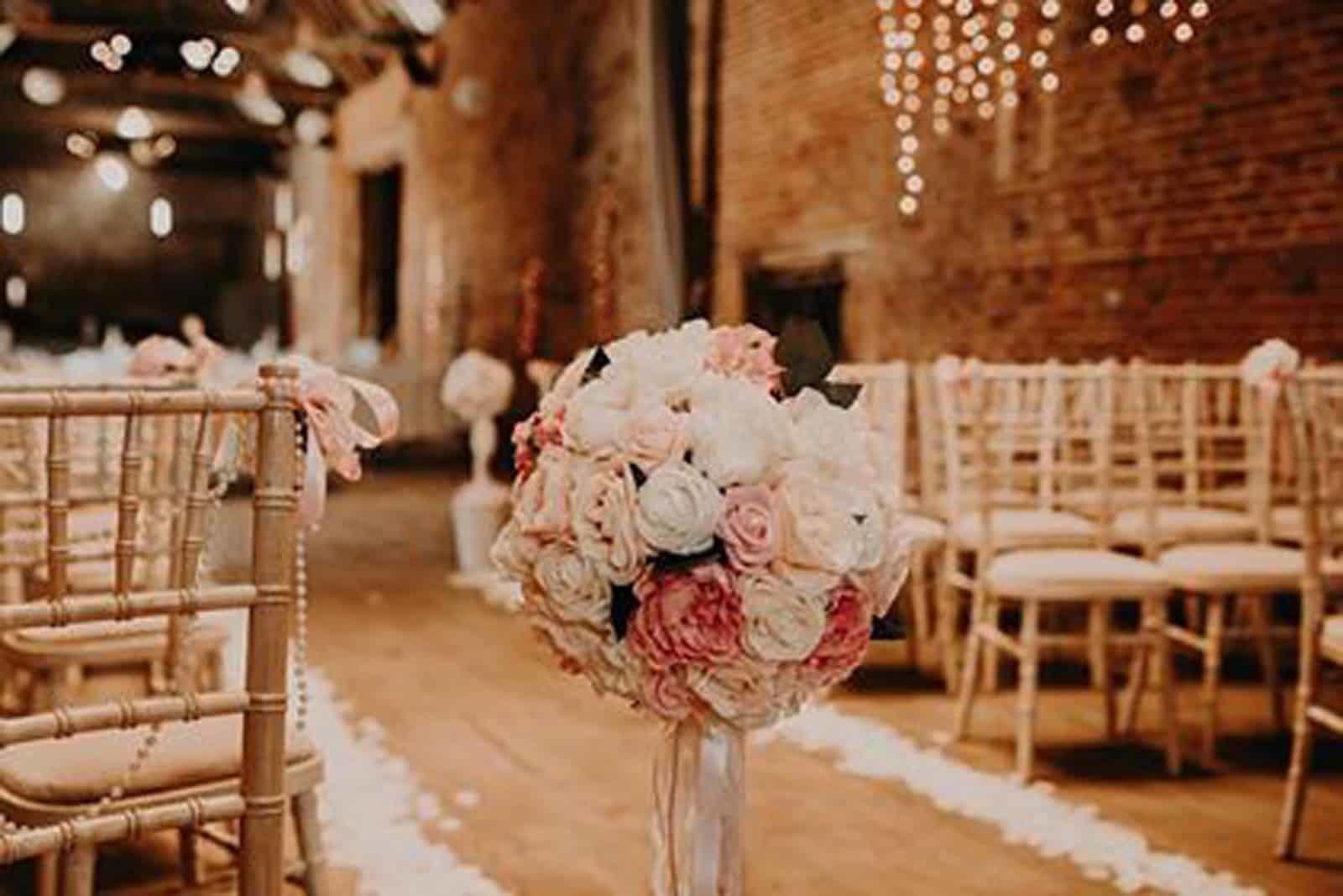 Rose Ball Wedding Decoration