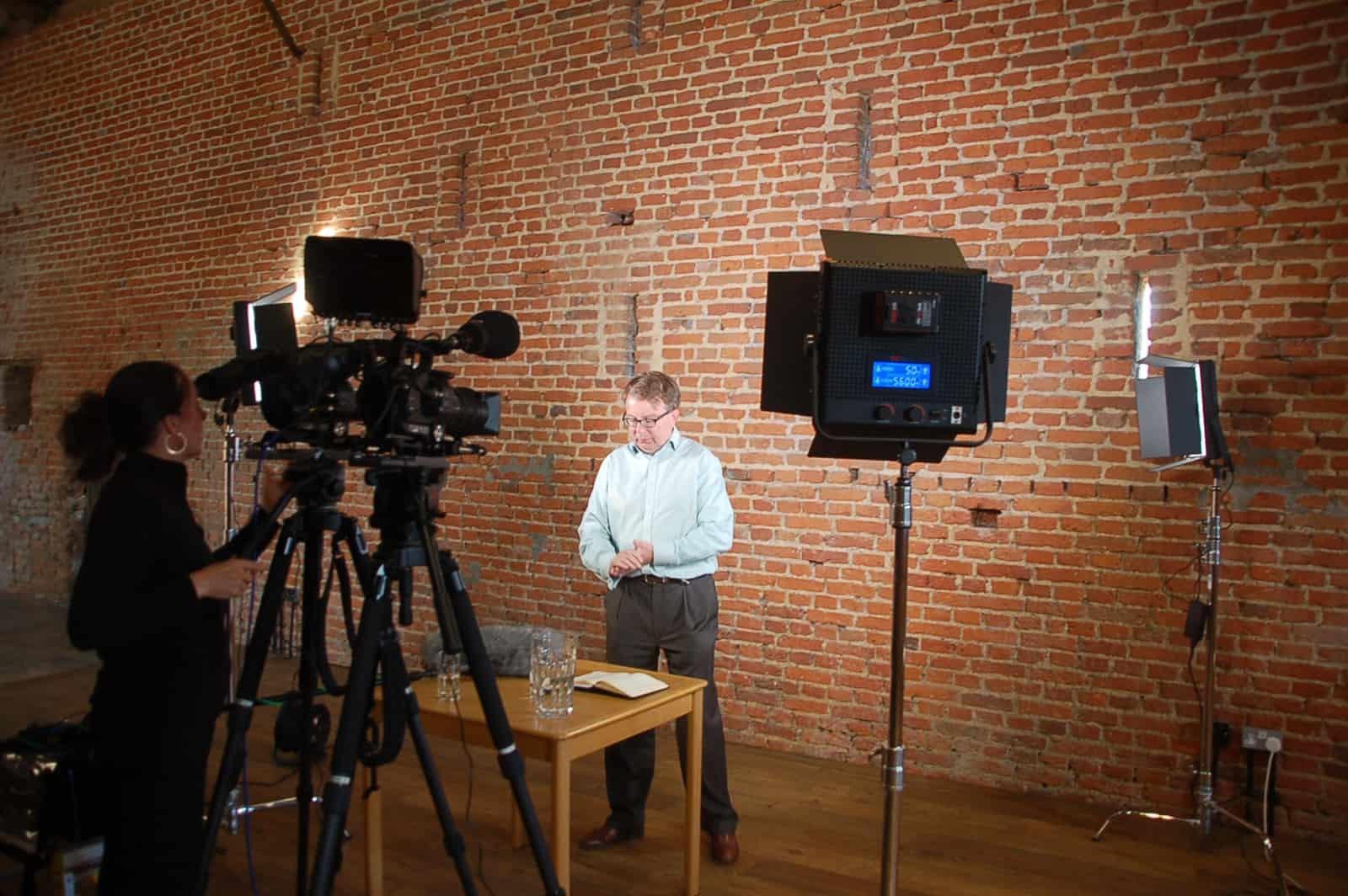 Video recording set up