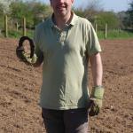 Copdock Hall Vineyard lucky horseshoe?