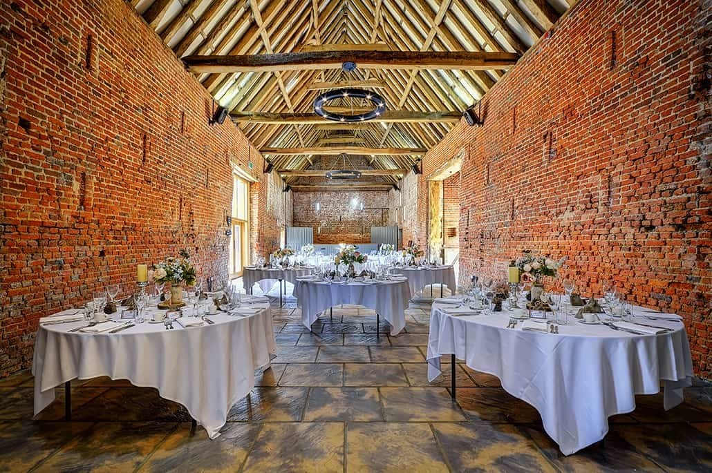 Copdock Hall Wedding Oblong Table Layout