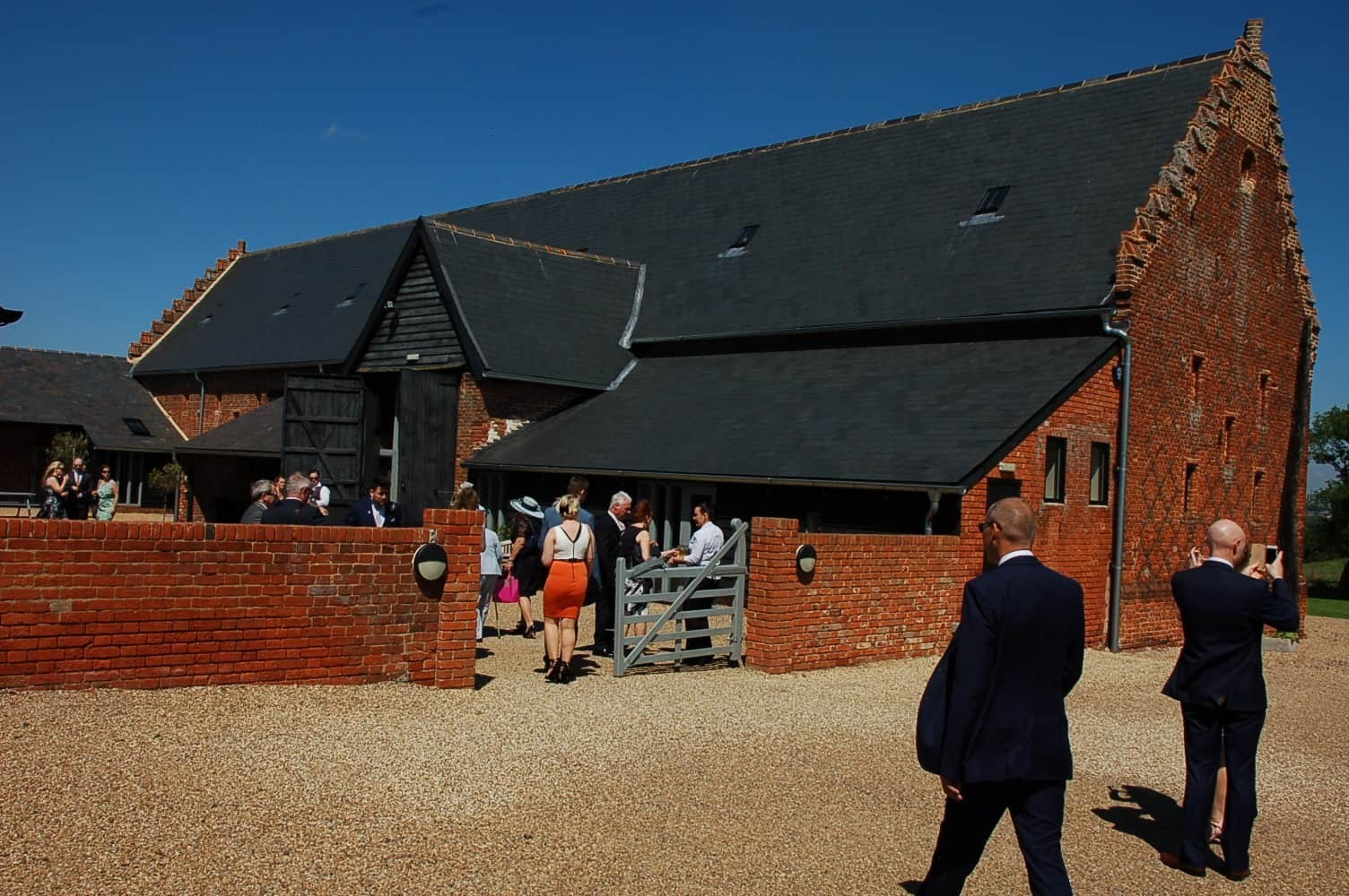 Copdock Hall Tudor barn