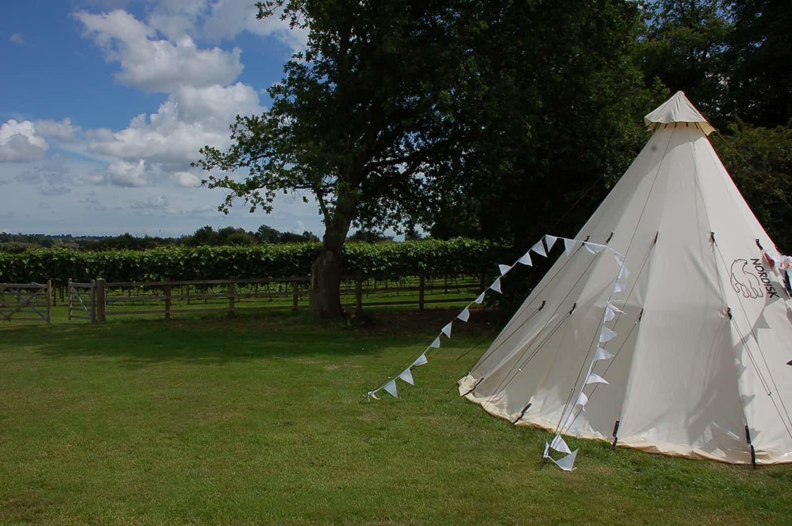 Copdock Hall Wedding Tent