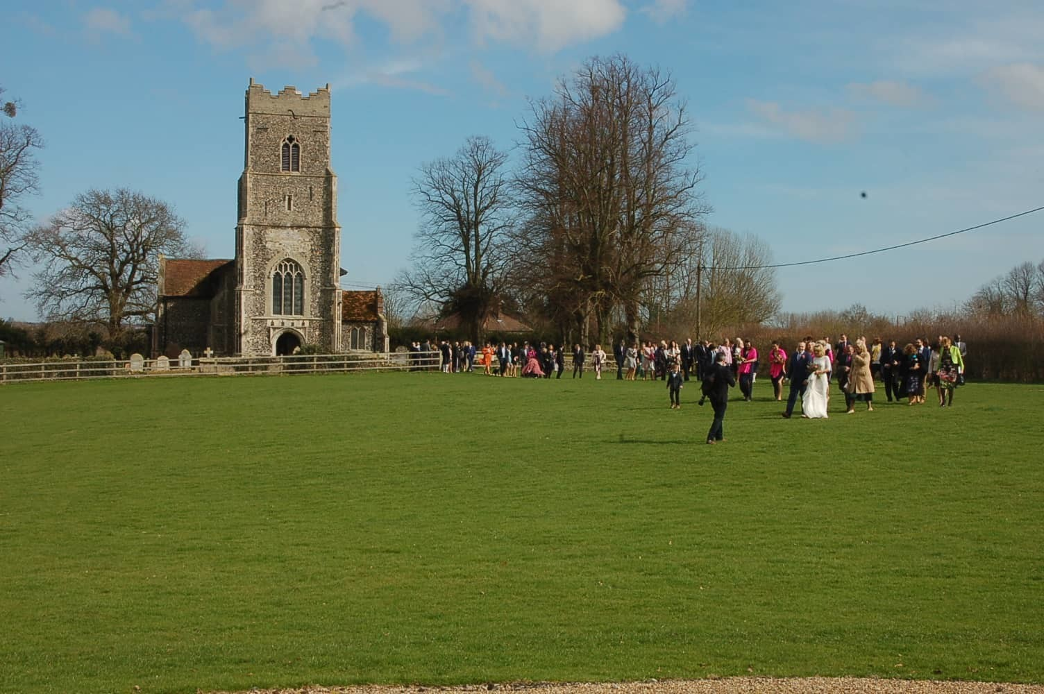 Copdock church wedding