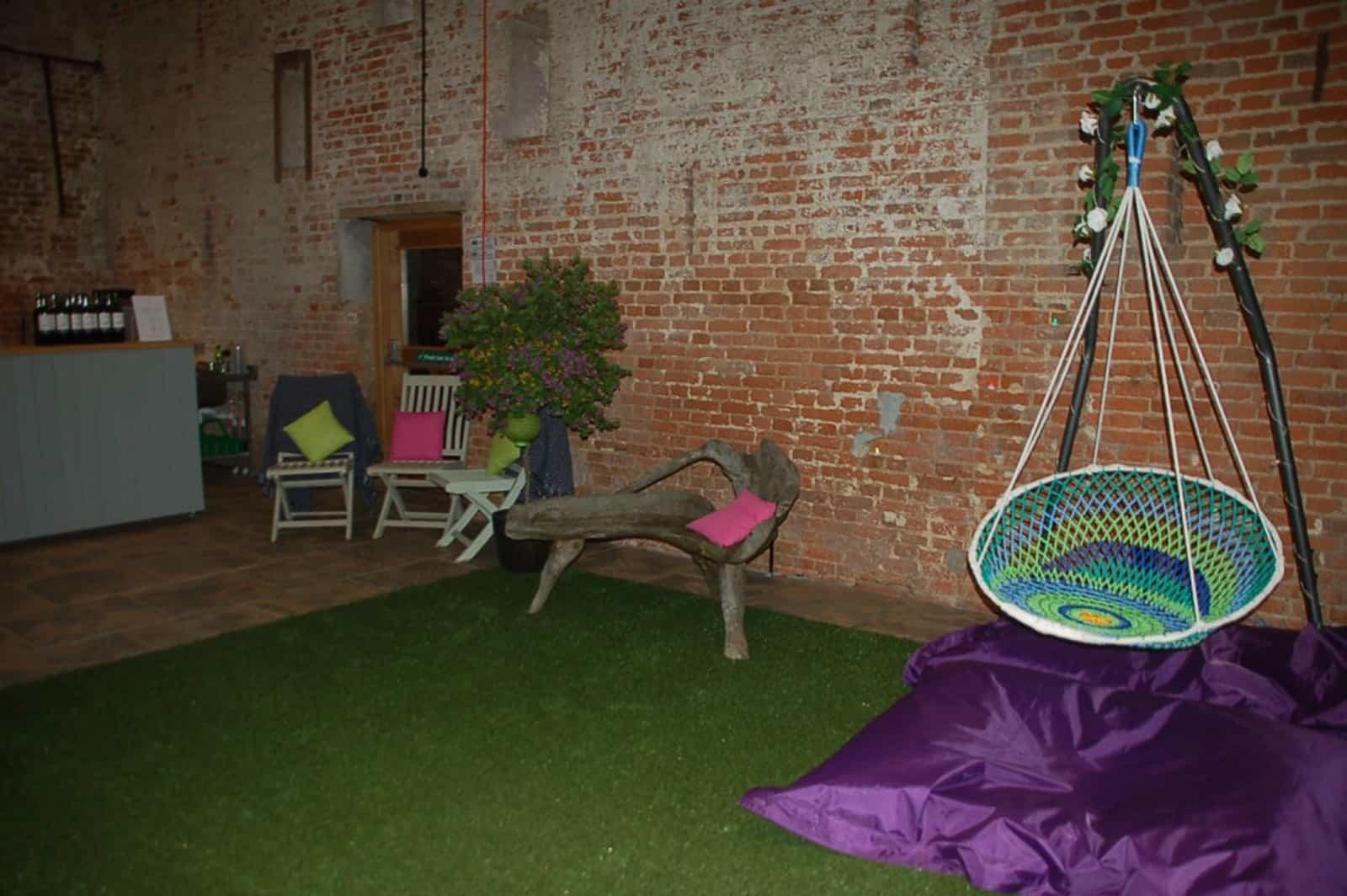 Informal wedding seating ideas