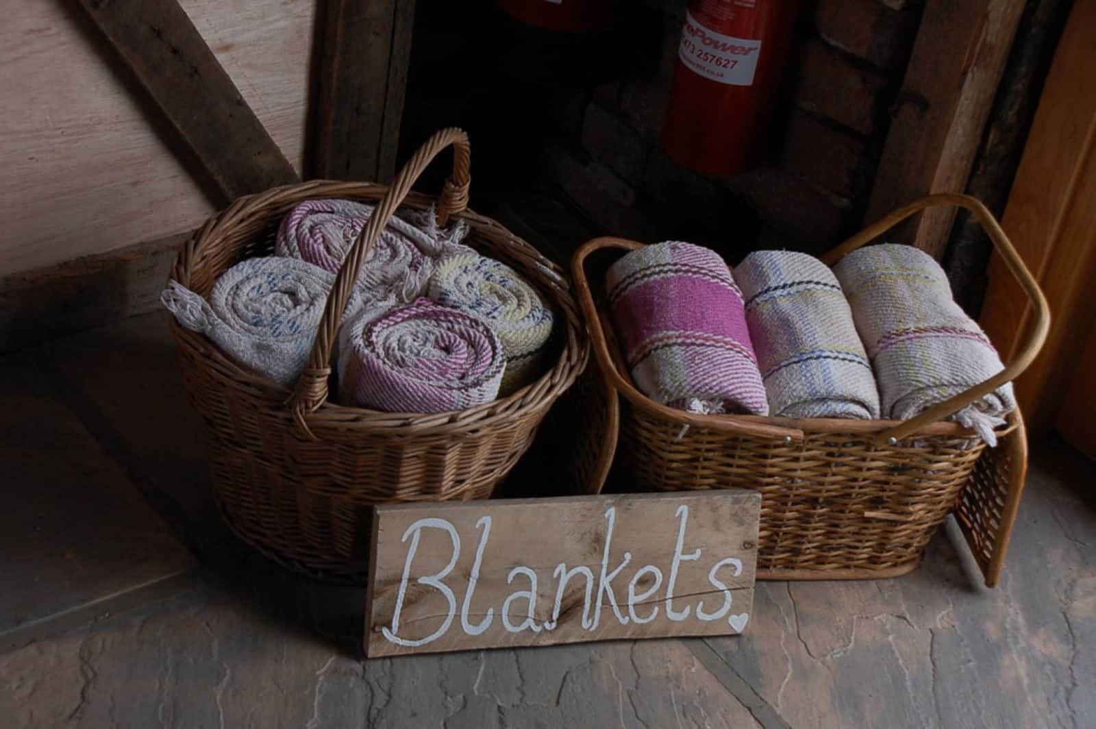 Blankets for Evening Weddings
