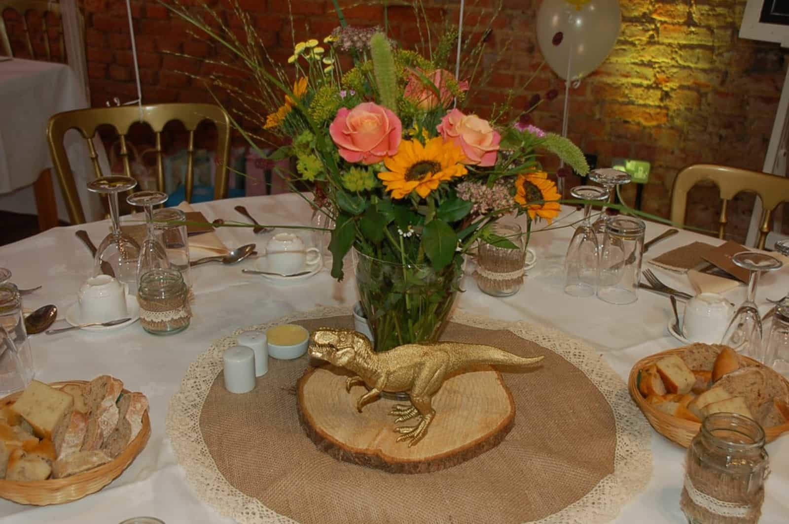 Dinosaur Table decoration