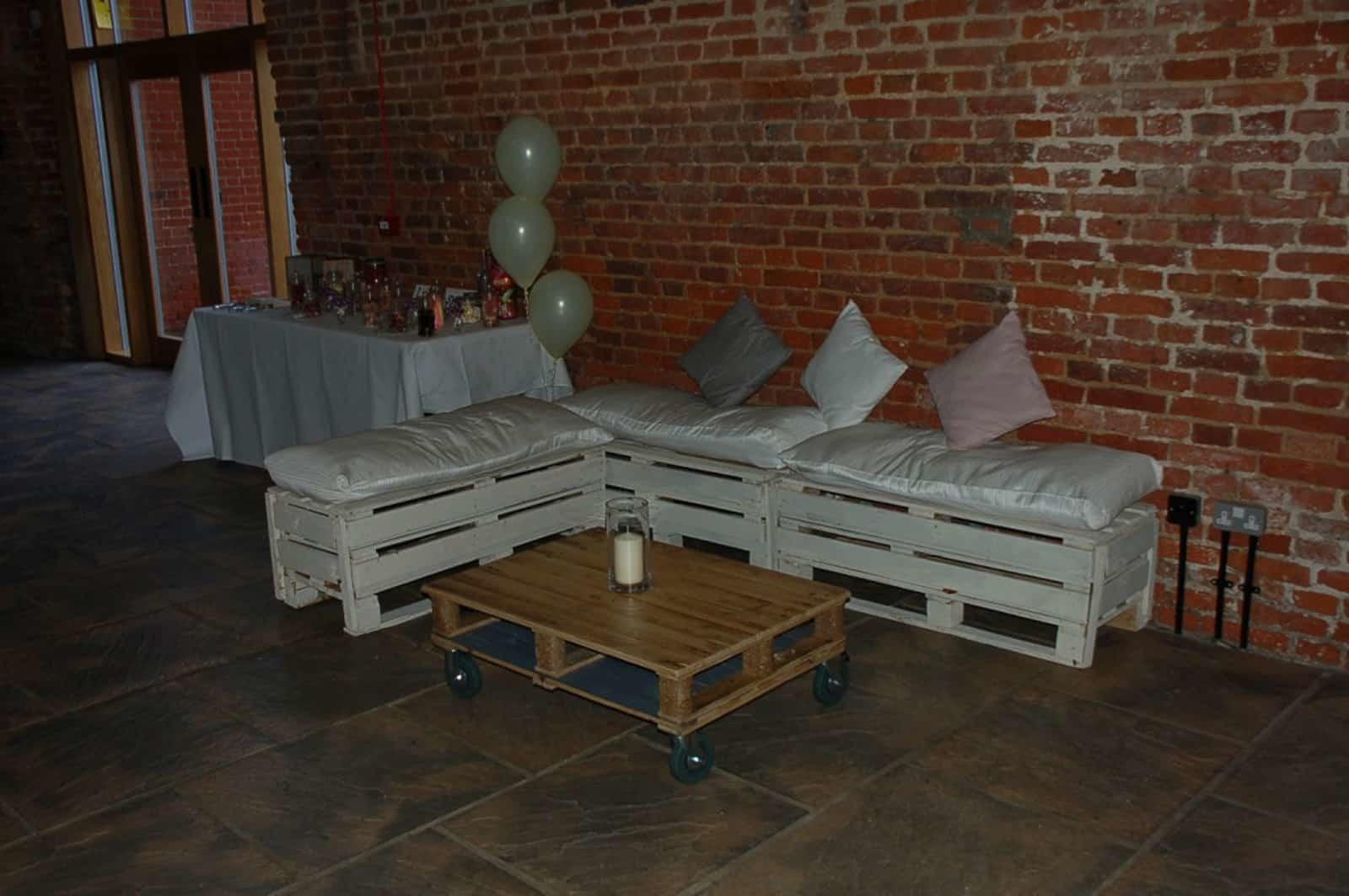Soft Bench Wedding Seating