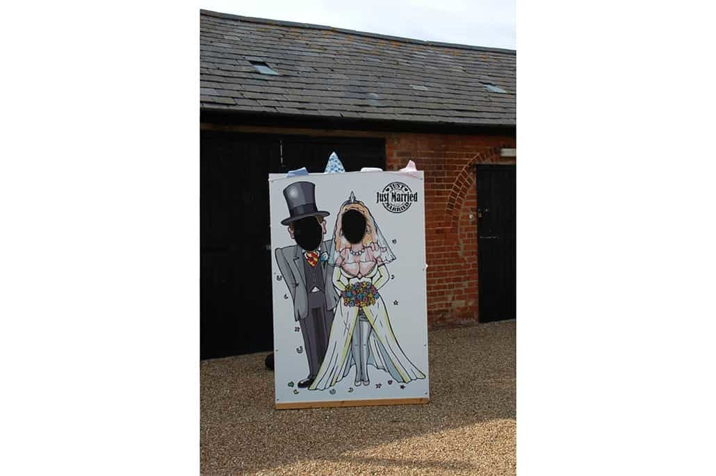 Just Married Photo Cut Out