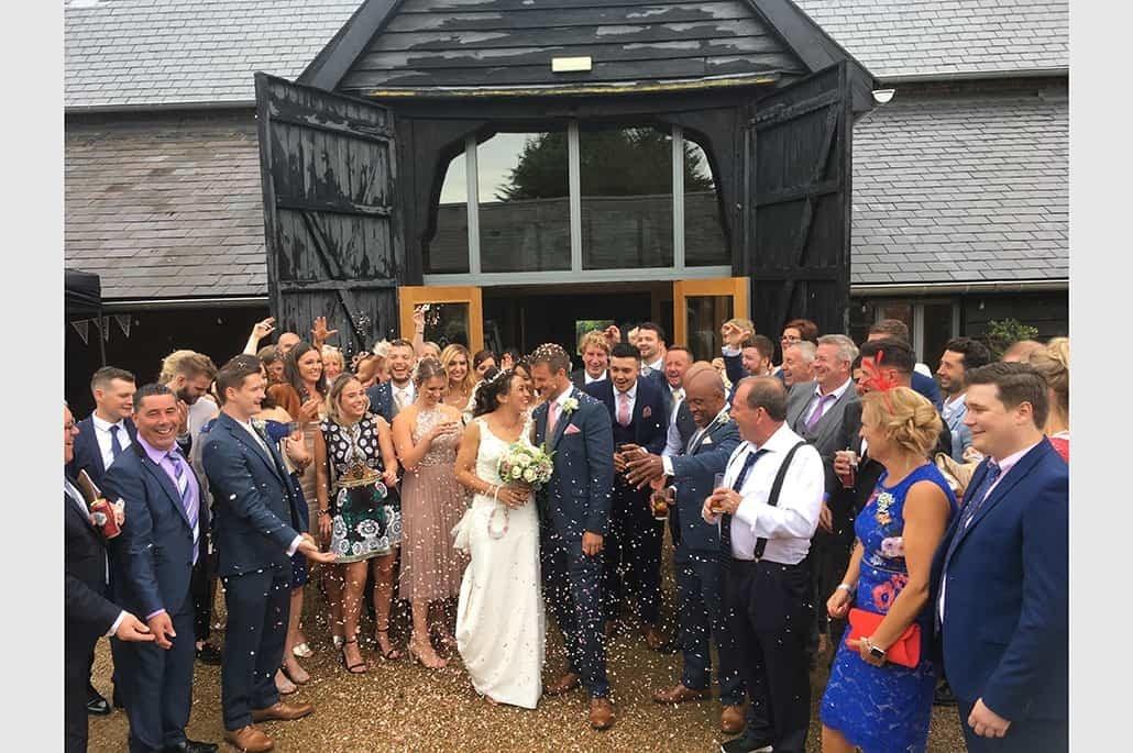 Jade and Carl's wedding