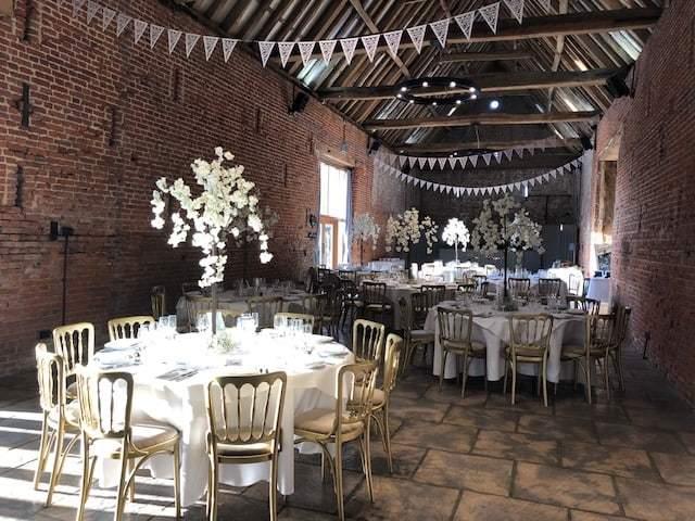 Blossom wedding Copdock Hall