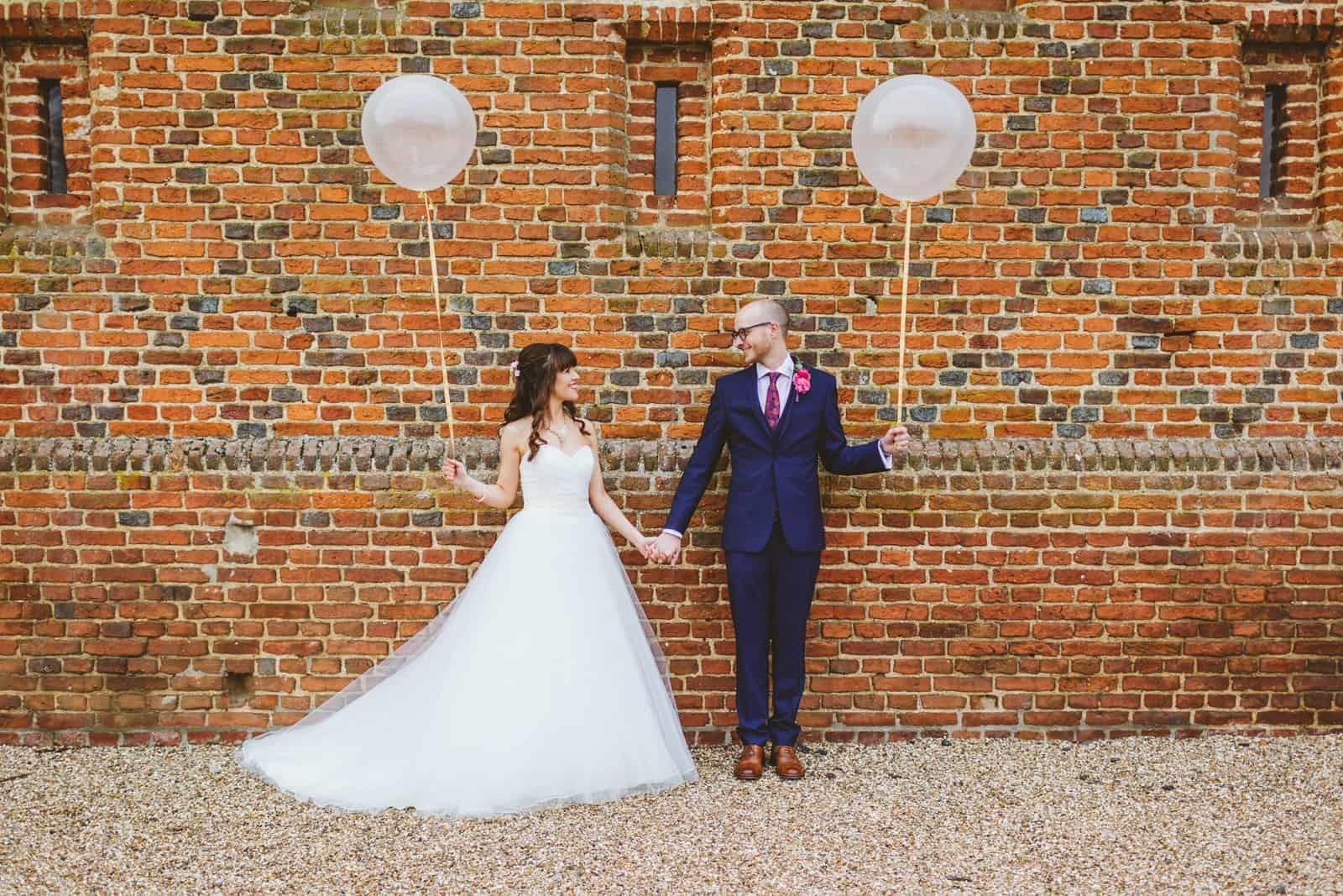 jemma and nick helen kirkman wedding balloons