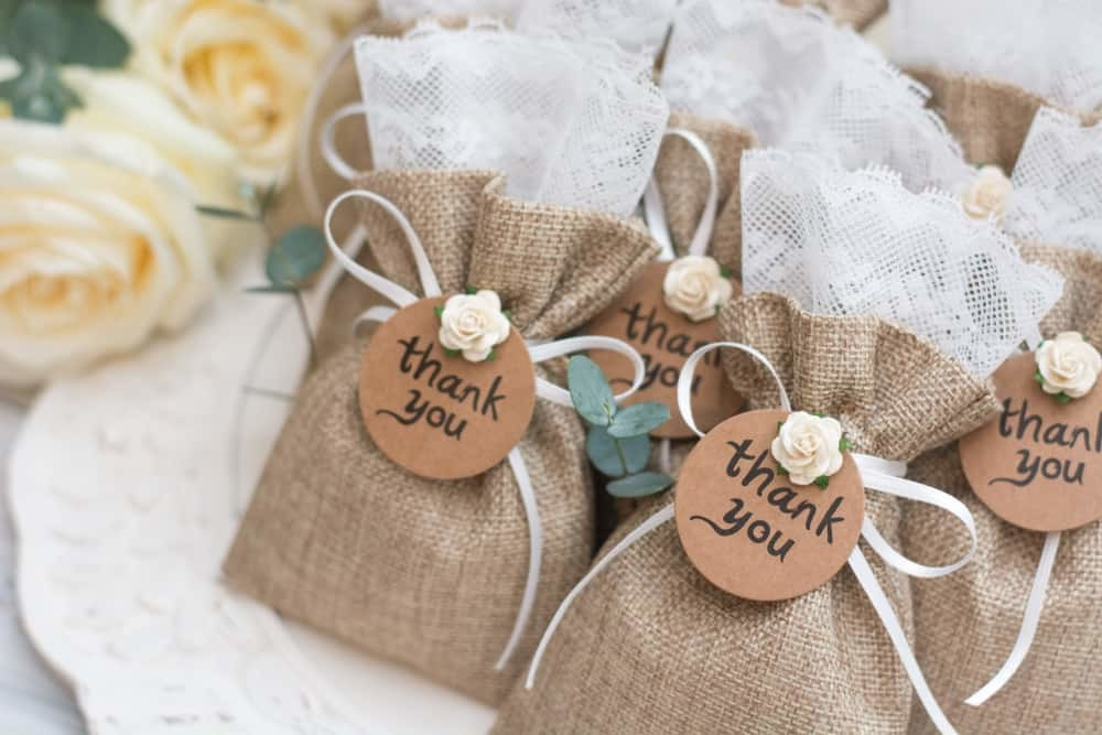 Copdock Hall Wedding Favours