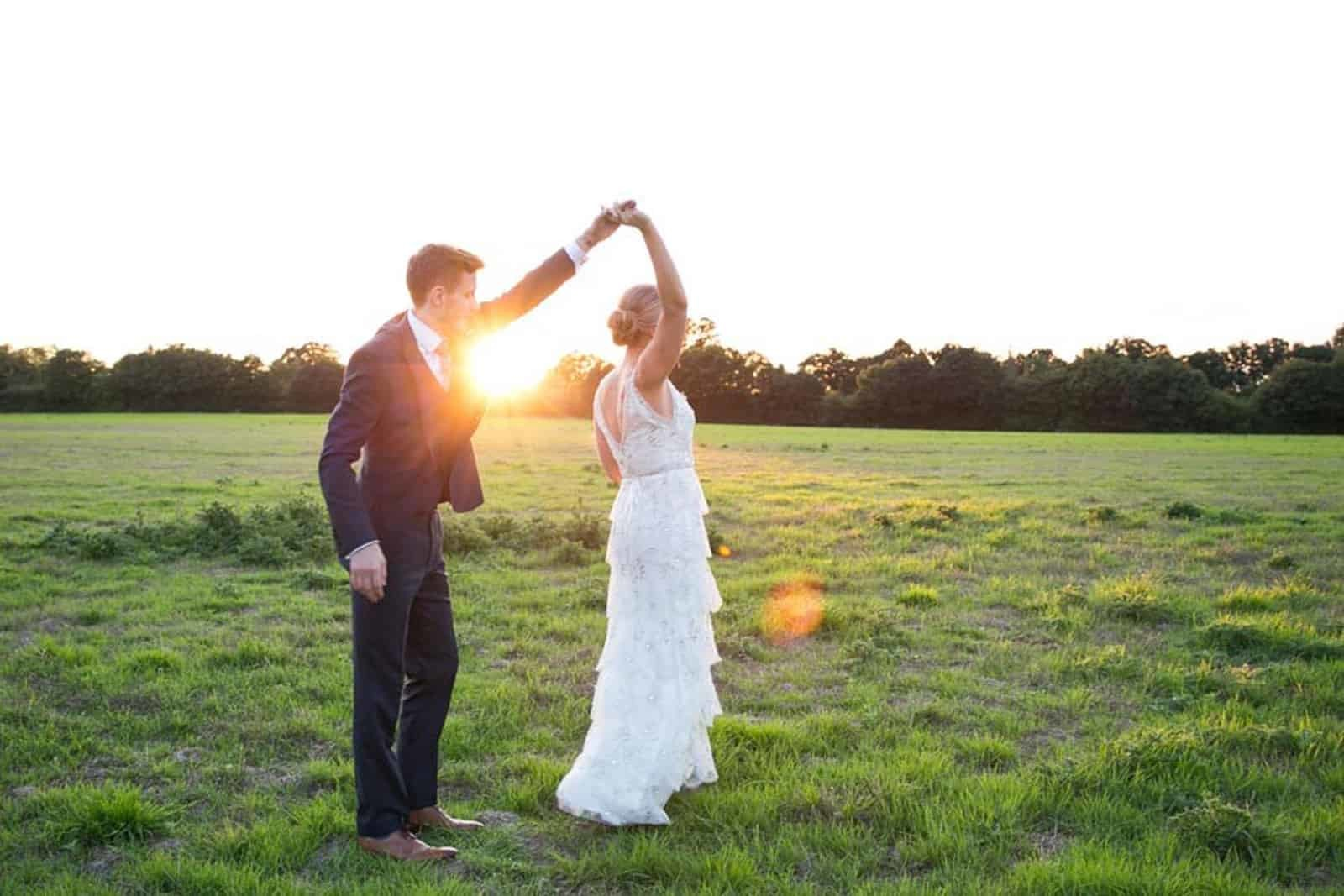 Sundown - Rebecca Prigmore Photography – Lucy and Ted's wedding