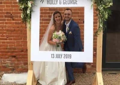 Holly and George